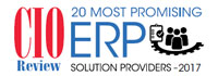 20 Most Promising ERP Solution Providers 2017